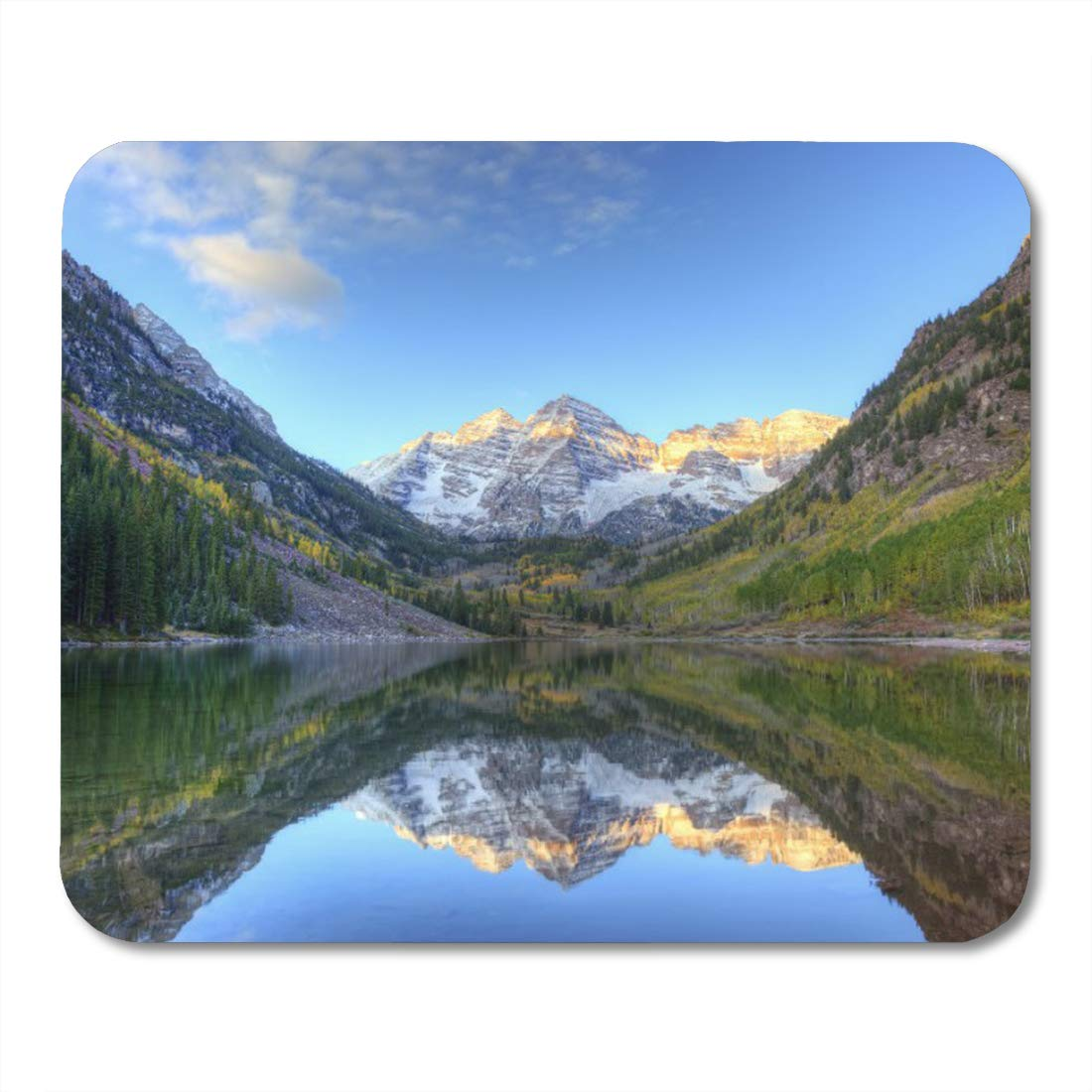 Amazon Com Aikul Mouse Pads Colorful Tree Usa Colorado