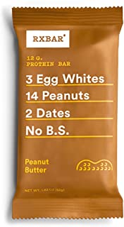product image for RXBAR Whole Food Protein Bar, Peanut Butter, 1.83 Ounce (4 Bars)