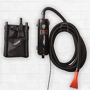 Detail King Metro Vac N Blo Car Vacuum Dryer Commercial Series Model PRO-83BA-CS - Includes 30 Foot Commercial Hose