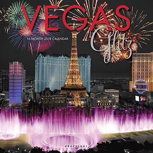 2018 Vegas Glitz Wall Calendar Closed Las Vegas Casino