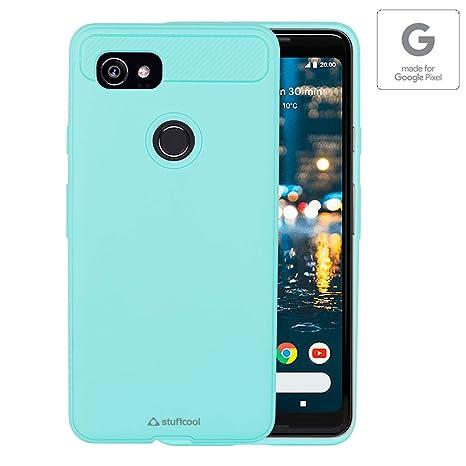 sale retailer 548a0 df649 Stuffcool STARMRGPIXEL2XL Mobile Case Cover for Google Pixel 2 XL (Mint)