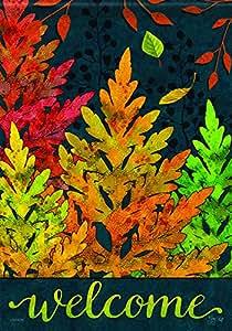 Carson acentos para el hogar otoño bosque tendencias Classic grande bandera