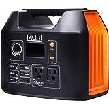 FACE8 ポータブル電源 400 大容量 110000mAh / 407Wh 蓄電池 最大出力350W 日本メーカー キャンプ 正弦波
