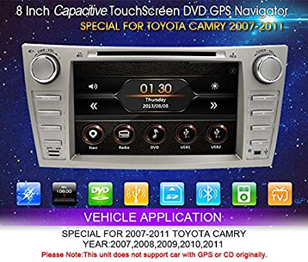 Amazon.com: Fit for Toyota Camry Aurion 07-11 In Dash Double Din 8
