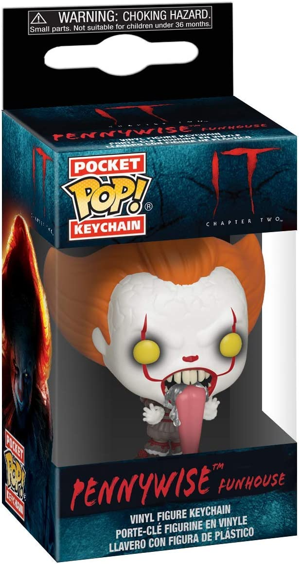 Funko Pop! Keychains: It 2 - Pennywise with Dog Tongue