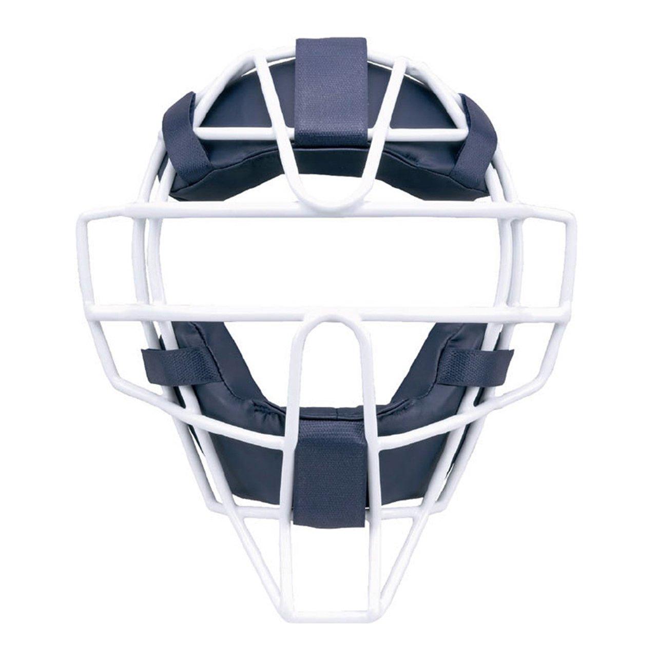 ミズノ ミズノプロ ソフトボール用 防具 マスク 1DJQS100 B06WLQPQQQネイビー×ホワイト(14)