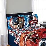 Marvel Captain America Civil War 3 Piece Twin Sheet Set