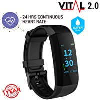 GOQii VITAL 2.0 Activity Tracker with BP Monitor & 3 months Personal Coaching