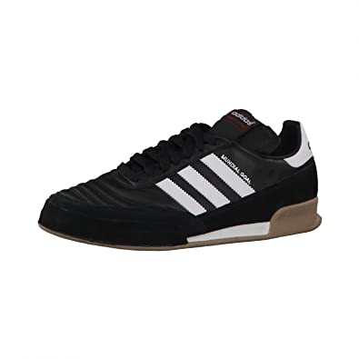 half off 6d0a1 f6104 Adidas Originals Men´s Indoor soccer shoes Mundial Goal 019310 Black-white  ad 41