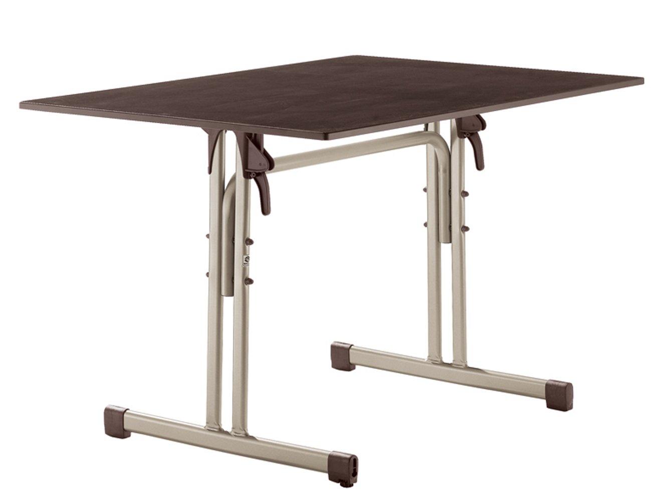 Sieger 1360 60 Gastro Tisch Mit Puroplan Platte 120 X 80 Cm