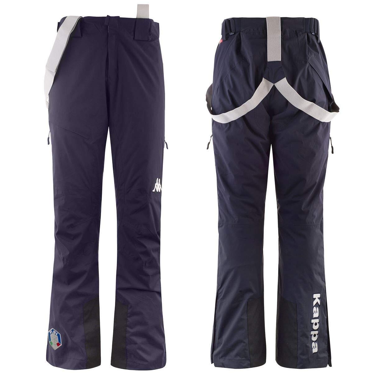 Kappa - 6cento 622a Full Zip Fisi, Pantaloni da Neve Uomo 304J4L0