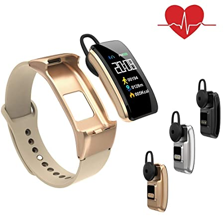 OJBDK Smart Watch Pulsera Inteligente 3 en 1 frecuencia ...