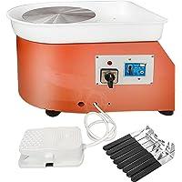 VEVOR Ovenschijf elektrisch 25 cm potloodschijf vormmachine 280 W Electric Pottery Wheel Ceramic Machine 220 V…