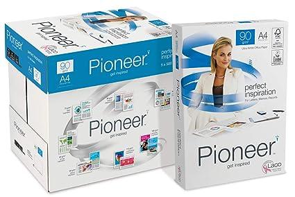 PIONEER - Papel premium para impresora 2500 folios 90 g/m2 ...