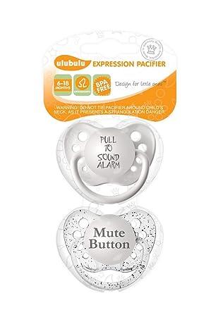 Amazon.com: Ulubulu Expression - Chupete: Baby
