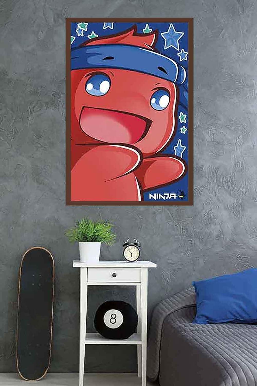 Trends International Ninja Pon Wall Poster, 24.25
