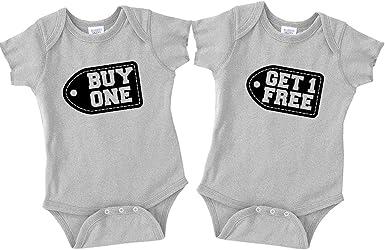 Buy 1 Get 1 Twins Twin Matching Bodysuits