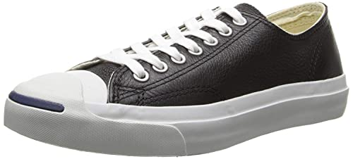 : Converse Jack Purcell piel fashion sneakers: Shoes
