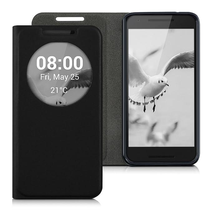 4 opinioni per kwmobile LG Google Nexus 5X Cover- Custodia magnetica apertura a libro con