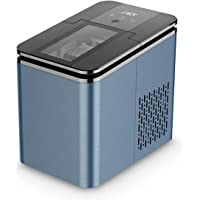 Portable Ice Maker, 9 Ice Cubes Ready in 6-8 Minutes, ETL certificated Makes 26.5 lbs in 24 hrs, Ice Machine for Home…
