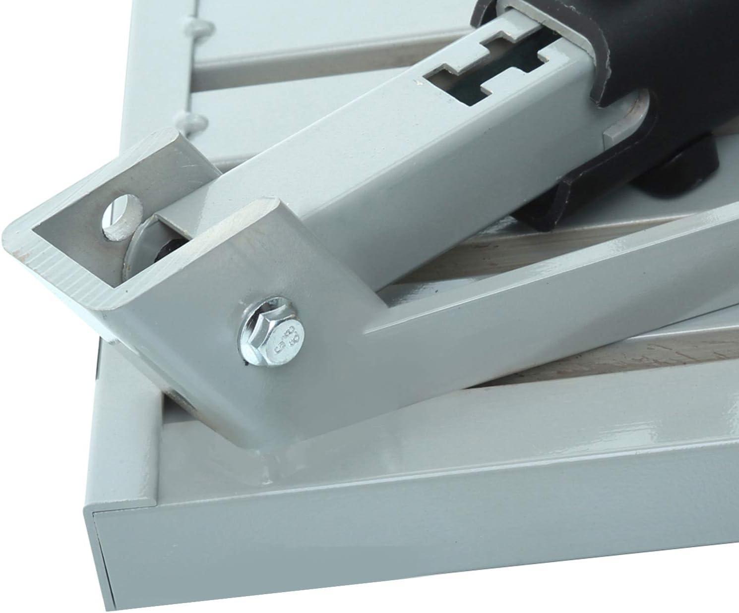 1,500lbs Adjustable Height Aluminum Folding Platform Step with Sheath Non-Slip Rubber Feet RV T Level RV Steps Homeon Wheels 19 x 14.5 Large RV Step Stool Handle Reflective Stripe