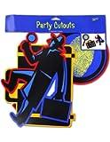 Secret Agent Party Cut Outs