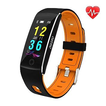 Diggro F10-Smart Bracelet Bluetooth 4.0 Étanche Montre Connectée Sports Moniteur Fréquence Cardiaque Podomètre Calories
