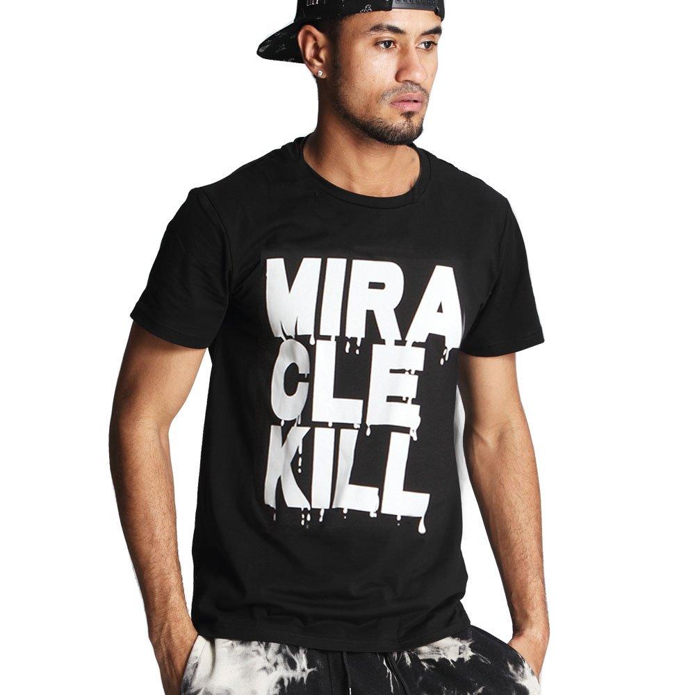MIRACLE KILL Mens Basic T-Shirt with Logo