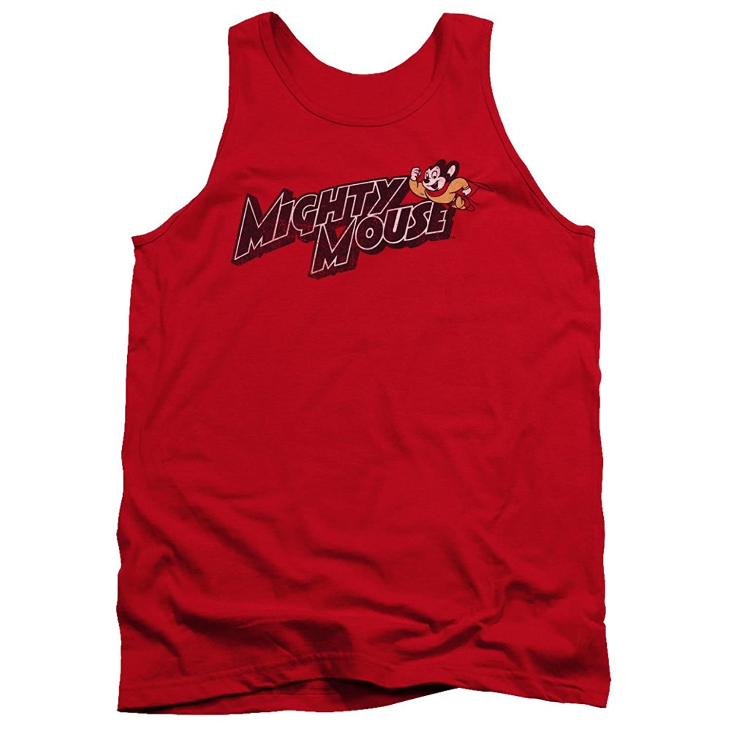 Mighty Mouse - Mens Might Logo Tank Top