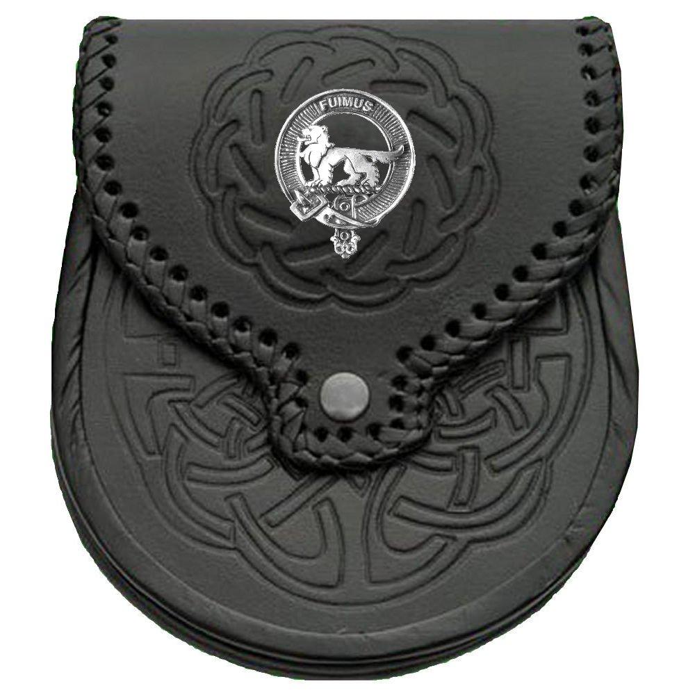 Bruce Scottish Clan Crest Badge Sporran