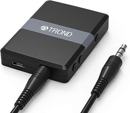 Bluetooth 5.0 Transmitter Receiver Audio Wireless Music USB Adapter 3.5 Mm LJ