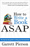 How To Write A Book ASAP (English Edition)