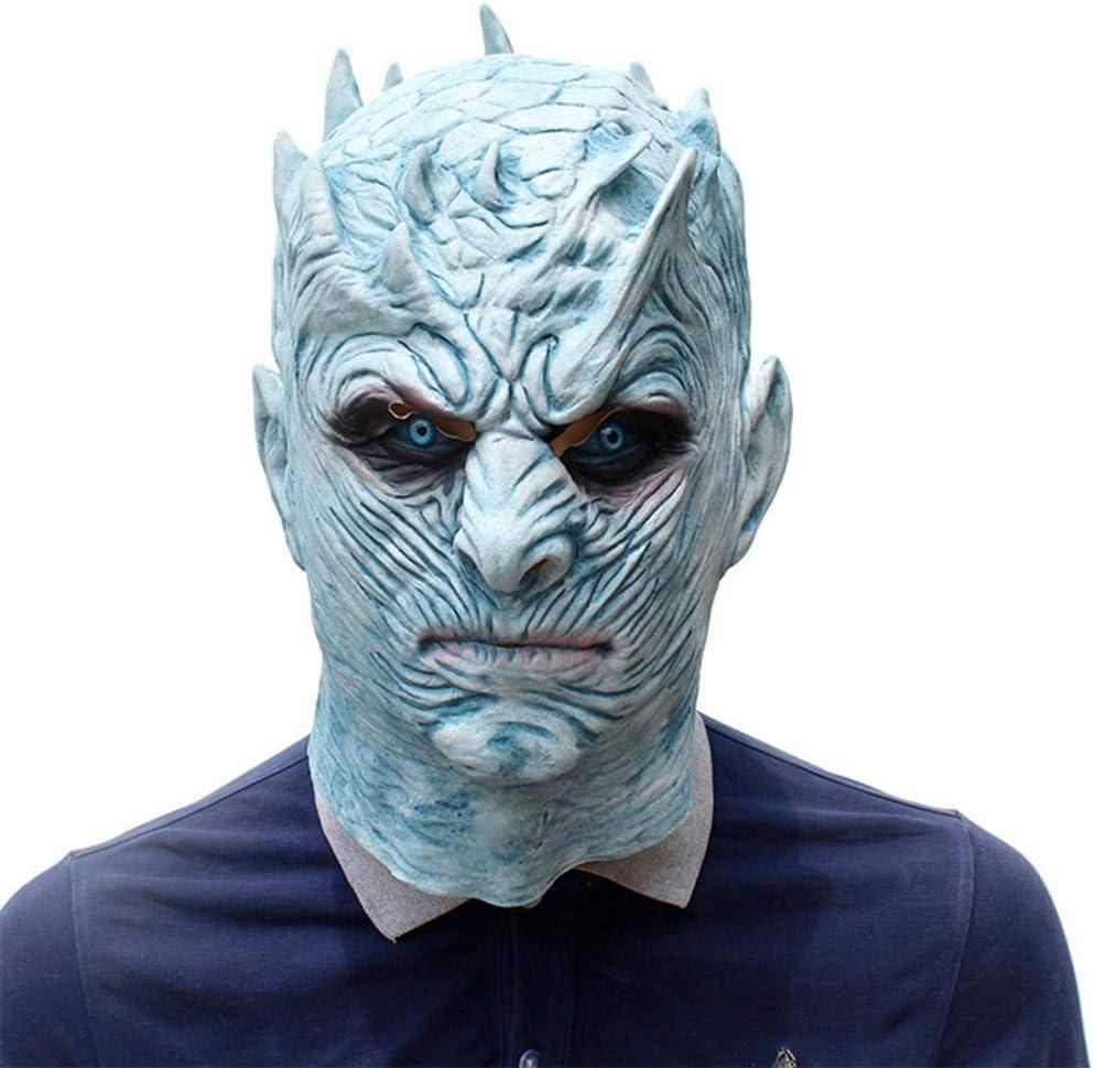 Umiwe Máscara Facial de látex Juego de Tronos Realista Rey de la ...