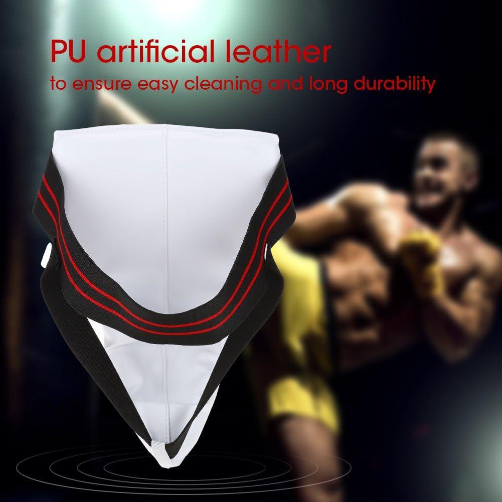 Protector de Ingle Boxeo Protector de Ingle Ajustable para Hombre para Taekwondo Sanda Karate