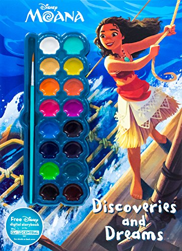 Disney Moana Discoveries and Dreams (Paint Palette ()