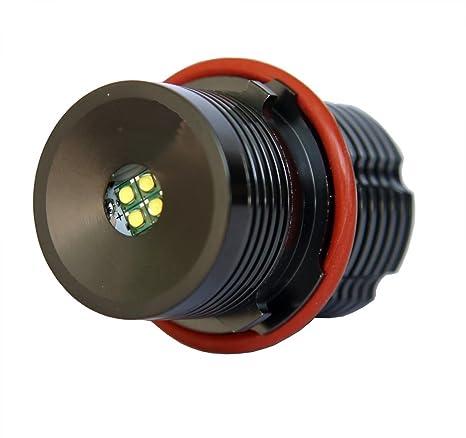 Bombilla LED para faros ojos de ángel compatible con E39, E60, color de la