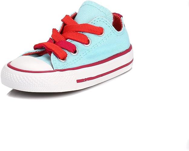 Converse Enfants Poolside & Berry All Star Low Baskets UK 7