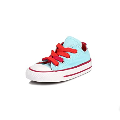 f3e733aa4961 Converse Infant Poolside   Berry All Star Low Trainers-UK 9 Infant ...