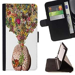 Dragon Case - FOR HTC Desire 820 - Love soaked in paper - Caja de la carpeta del caso en folio de cuero del tir¨®n de la cubierta protectora Shell