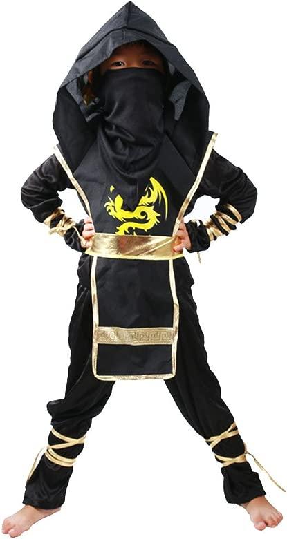Odziezet Disfraz de Ninja Niño Niña Naruto Navidad Christmas ...