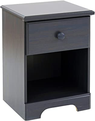 South Shore Summer Breeze Collection Nightstand - Blueberry