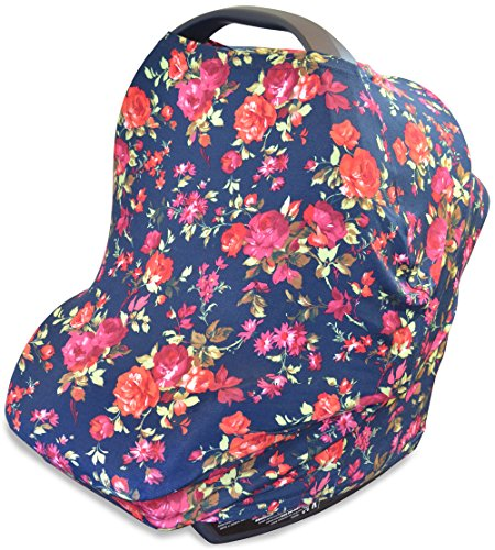 Buy Discount Stretchy Multi Use Carseat Canopy | Nursing Cover | Shopping Cart & High Chair Cover | ...