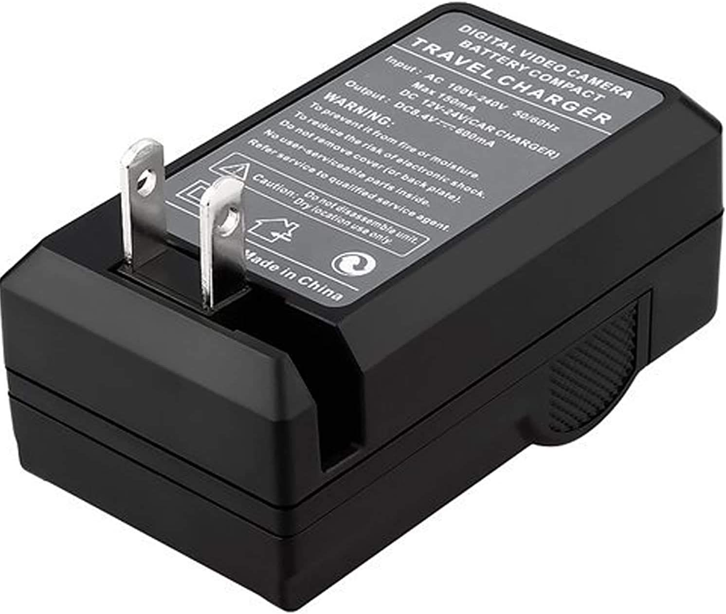 Nixxell Charger for Panasonic DMW-BCM13, DMW-BCM13PP Lumix DMC-TZ37, DMC-TZ40, DMC-TZ41, DMC-TZ55, DMC-TZ60, DMC-ZS27, DMC-ZS30, DMC-ZS35, and More