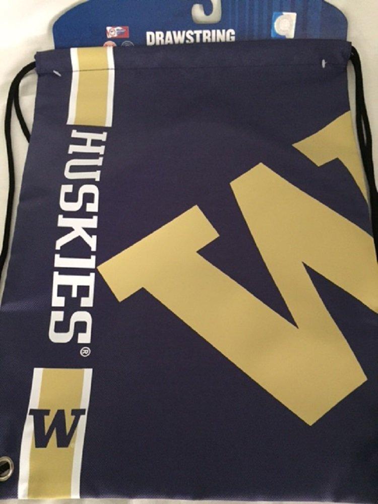 Washington Big Logo Drawstring Backpack