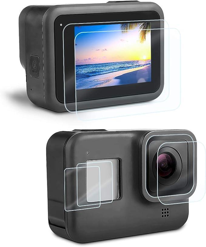 Displayschutz Schutzfolie Für Gopro Hero 8 Black Kamera