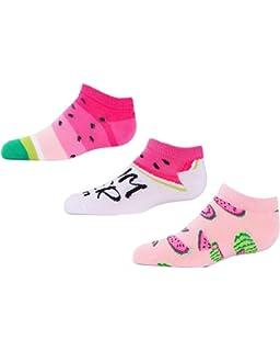 New SockGuy Women/'s Watermelon Sock Pink SM//MD