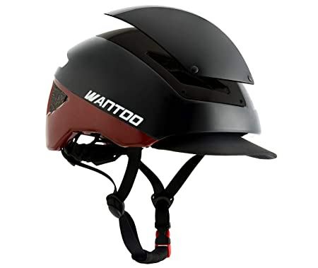 Wantdo Men s and Women s Bicycle Commuter Multi-Sport Road Helmet Safety Street Helmet Lightweight Adult Bike Helmet