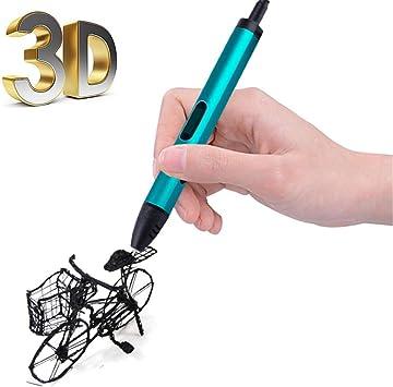 3D Pen Printer Pen Doodles de Debuxo de Impresora e Pluma 1.75mm ...