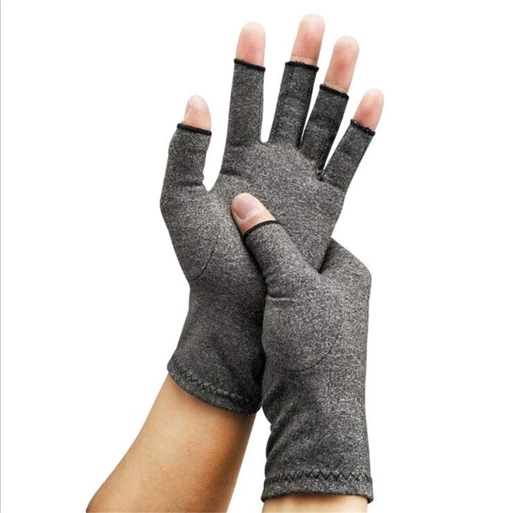 LPVIE Anti-Arthritis-Handschuhe Bieten W/ärme Und Kompression Hand Erh/öht Die Durchblutung Schmerzlinderung Steife Reha-Trainingshandschuhe,Black,S