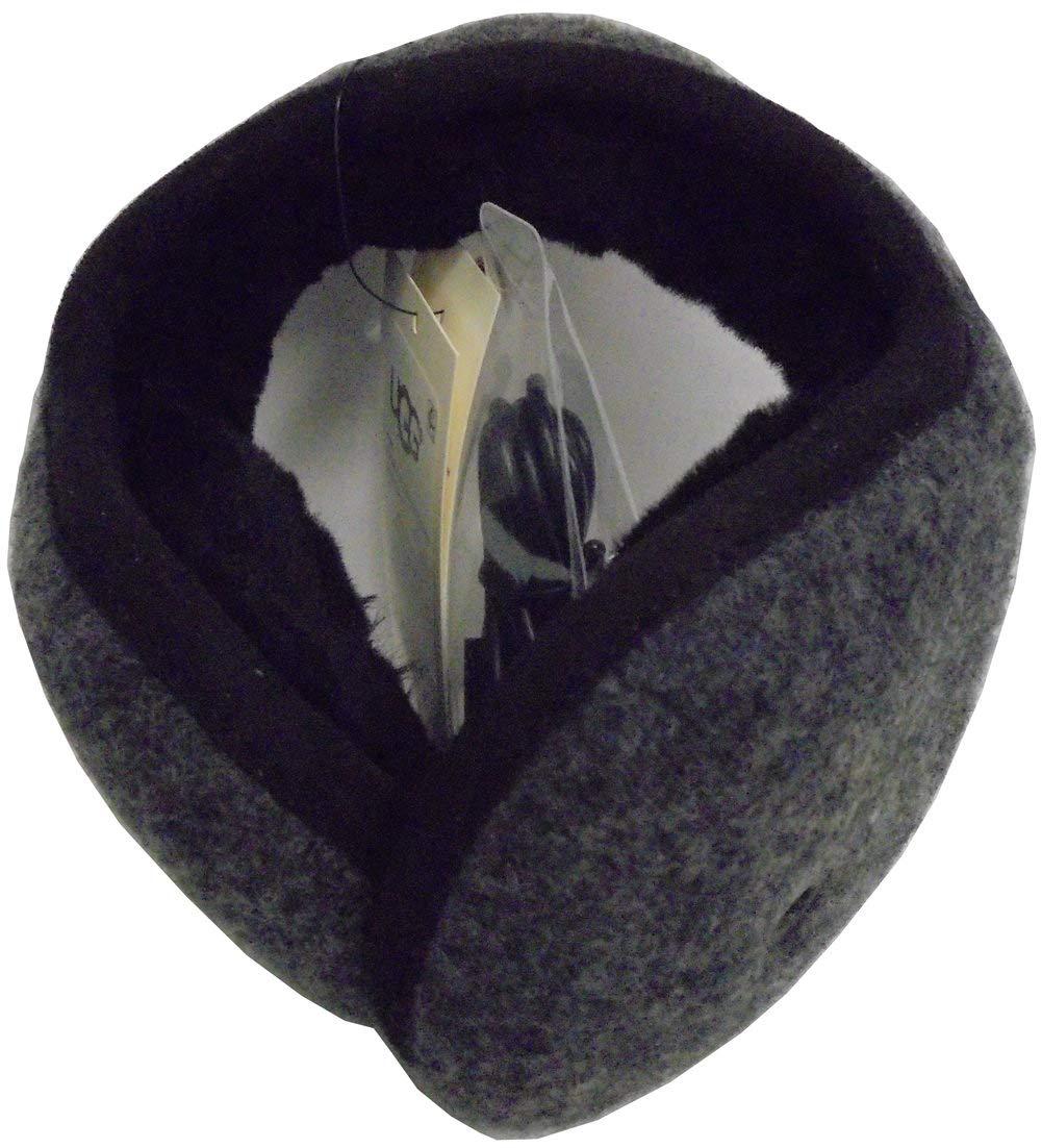UGG Mens Wool Bluetooth Earmuff, Charcoal, Size One Size